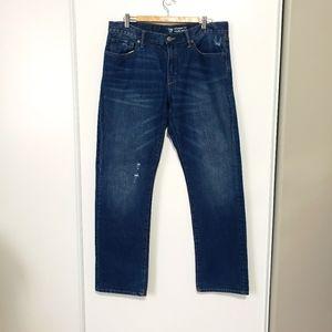 "2/$20 Men's gap ripped jeans 35""×32"""
